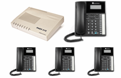 Business Telephone System - orchid 416