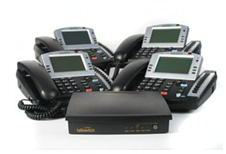 Talkswitch 240 Bundle with 4x TS 600 phones- 2 lines, 4 extensions, 12 IP extensions