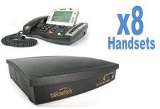 8 XL220 Business Telephones