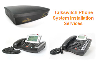 Talkswitch Phone Systems Package Installs