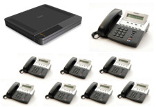 Samsung 7030 Phone System Package -8x digital Phones, 4 analogue lines, 8 digital exts