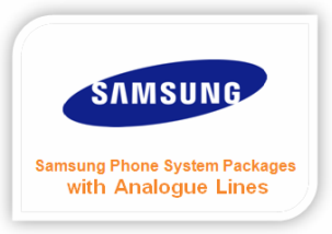 Samsung Phone System Packages with Analogue Lines