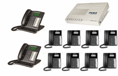 2x Master Key phone + 8x XL220 phones with business system