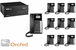 Orchid 832 Business Telephone System- 10 Phones