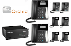 Orchid 832 Business Telephone System- 8 Lines- 32 Users