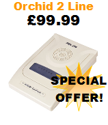 Orchid 206 Small Business Telephone System with 2 Lines and 6 Extensions Special Offer