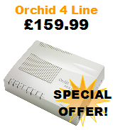 Orchid 416 Office Telephone System with 4 Lines and 16 Extensions Special Offer