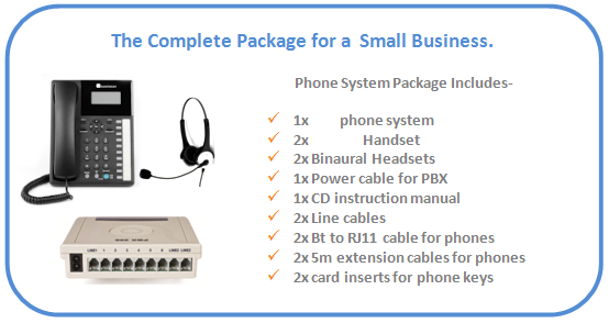 New_207_2_line,_Orchid_pbx_office_telephone_system_with_2x_headsets_package_details