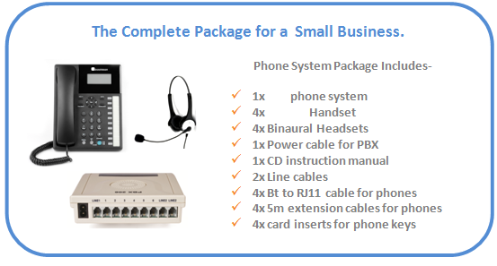 New_207_2_line,_Orchid_pbx_office_phone_system_with_4x_headsets_package_details