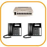 Orchid 207 Business telephone system package