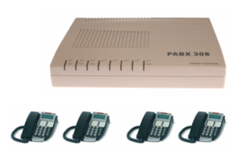 3 line telephone system