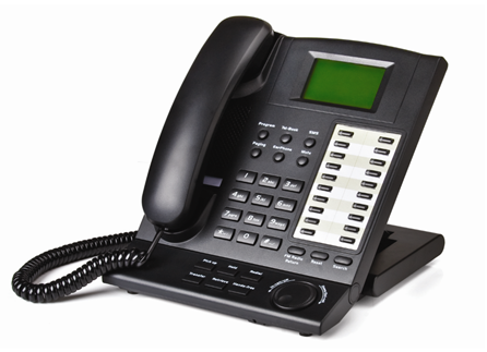 kp 416 business system phone handset